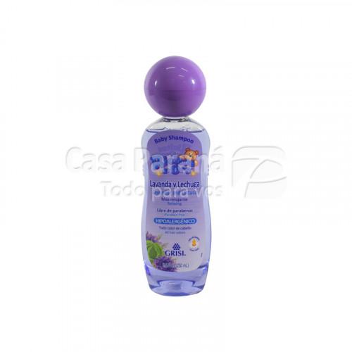 Shampoo de lavanda y lechuga para bebes de 250 ml