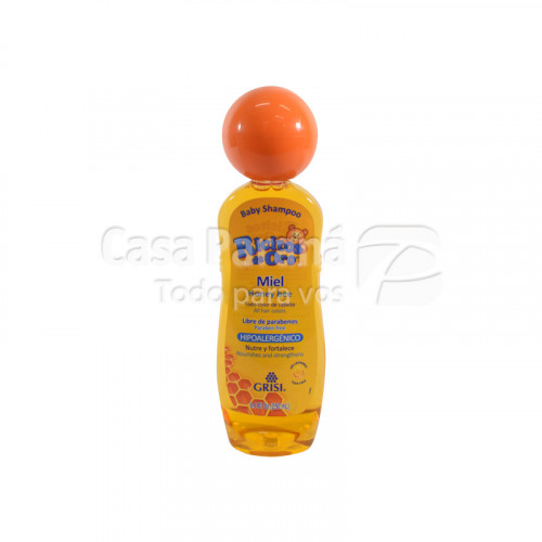 Shampoo de miel para bebes de 250 ml