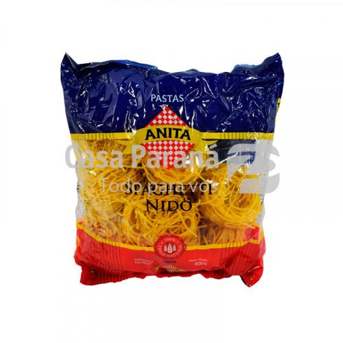 Fideo spaghetti nido de 400 gr
