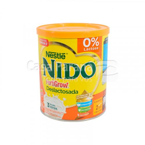 Leche en polvo sin lactosa fortigrow 400 gr