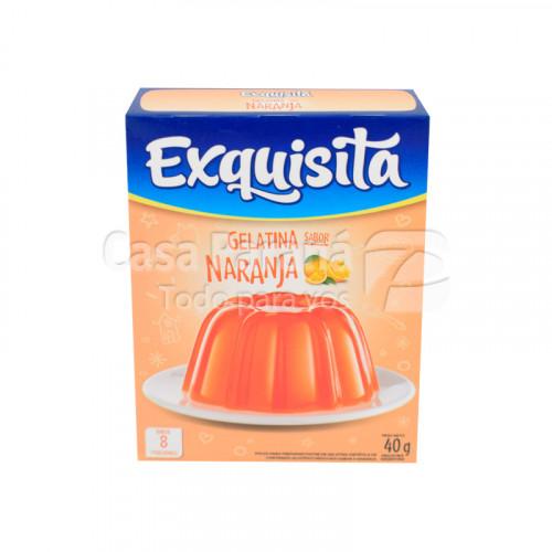 Gelatina sabor naranja de 40 g