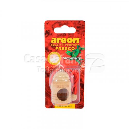 Desodorante para vehiculo con diseño aroma stramberrry