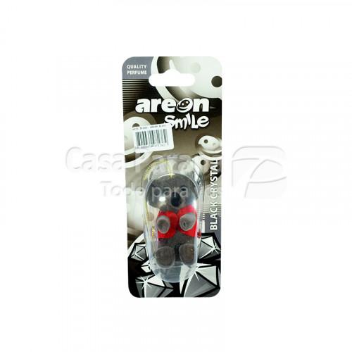 Desodorante para vehiculo con diseño aroma black crystal