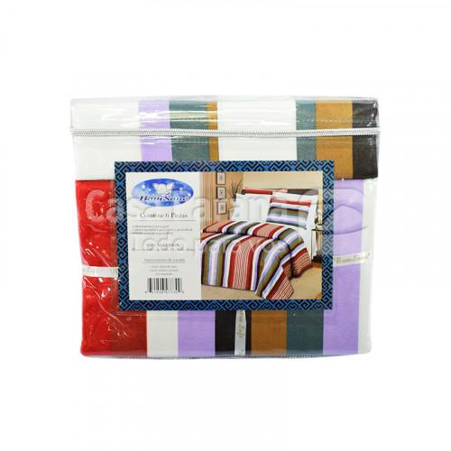 Juego de sábana de 6 piezas de 1.40x 2.00x30 100% algodón