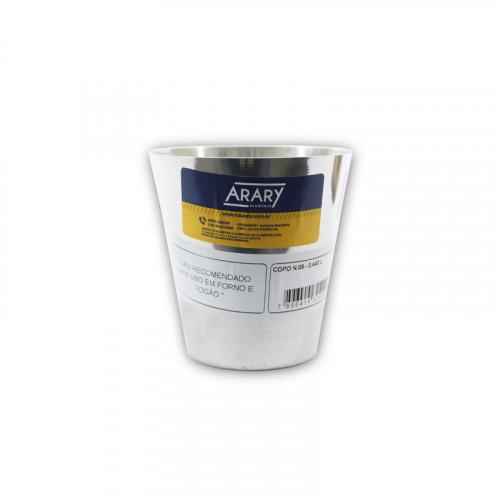 Vaso de aluminio de 440 ml