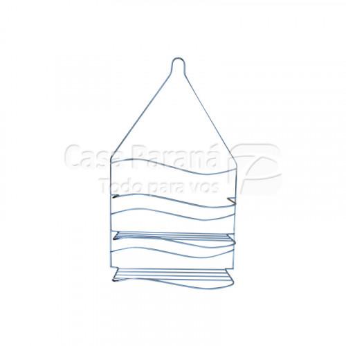 Porta shampoo de metal