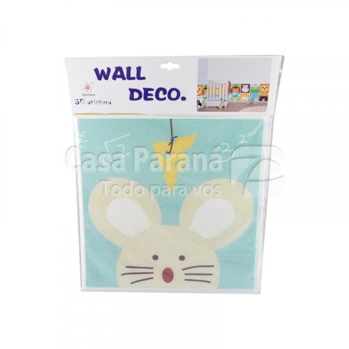 Sticker adhesivo 5d para pared 35x35 cm