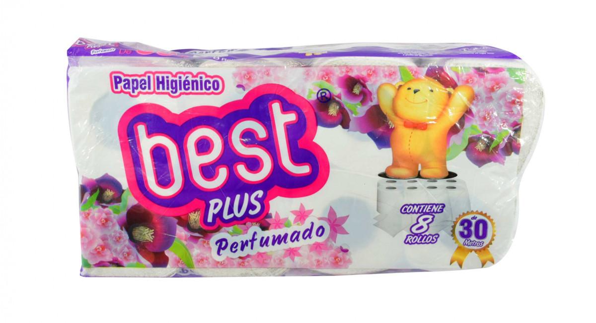 Papel Higienico BEST PLUS 6x8 ROLLOS