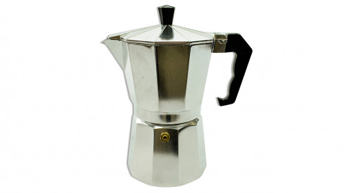 Cafetera inoxidable