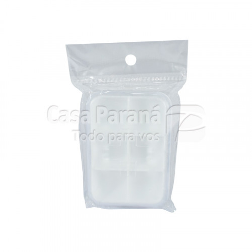Pastillero de plastico de bolsillo