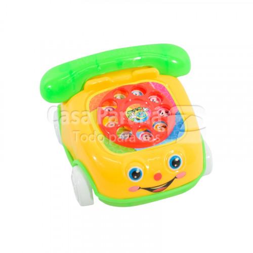 Telefono de juguete con diseño de auto