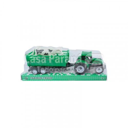 Tractor de juguete con carga