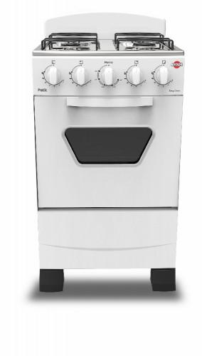 Cocina A Gas Tokyo Petit 4h Mesa Inox Con Respaldo Horno Limpia Facil