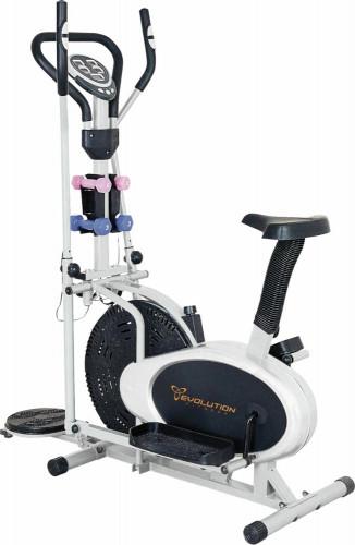 Eliptico Residencial Con Asiento Evolution Fitness Mod El651 4mancuernas Twister