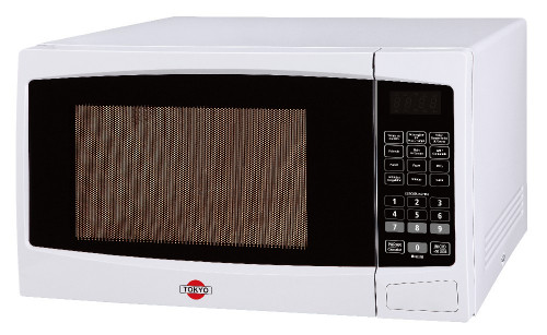 Microondas Tokyo Mod Tok28en 28lts Digital C/grill Blanco 900w 220v 50hz