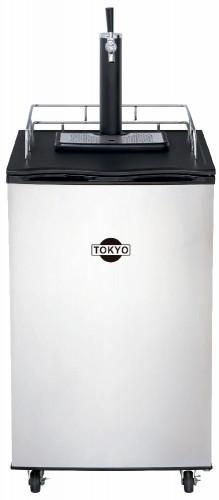 Torre Choppera Tokyo 1 Canilla Mod Kegerator Inox 170l Con Compresor