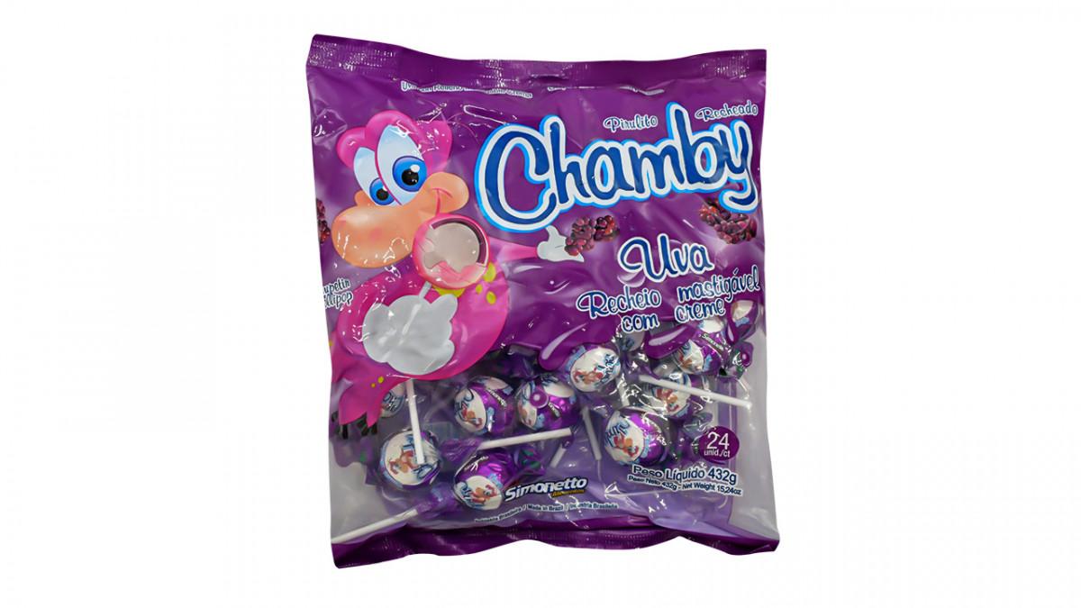 Chupetin chamby sabor uva de 480 gr