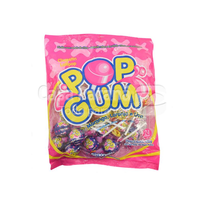 Chupetin gum surtido de 480 gr