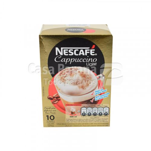 Cafe sabor capuccino light de 10 sobres de 125 g