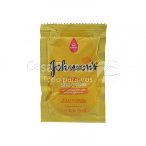 Shampoo para bebes en sachet de 25 ml