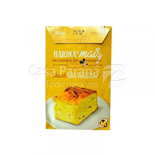 Harina de maiz para sopa MICKEY 250 GR.