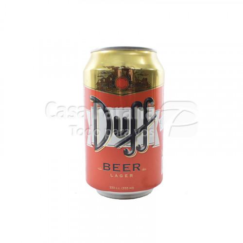 Cerveza Duff lata 330 ml.