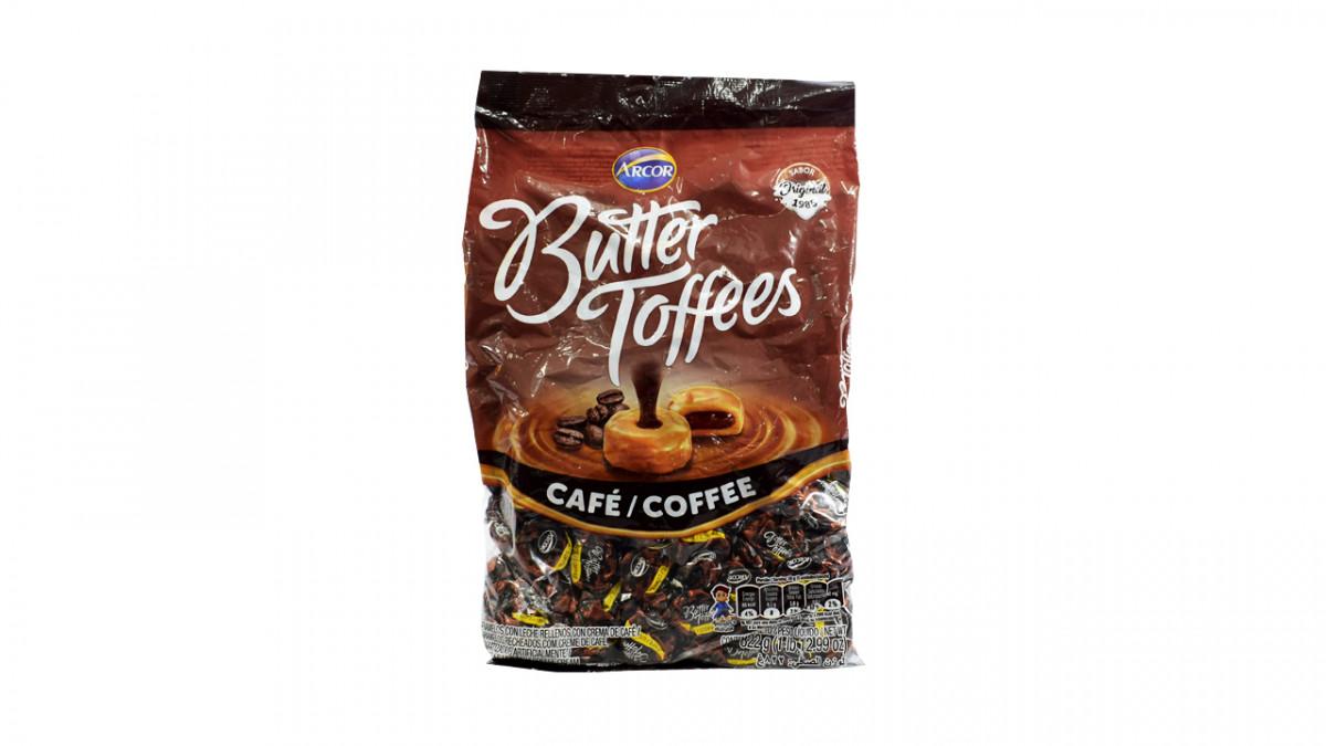 Caramelo butter toffees sabor café de 822 gr