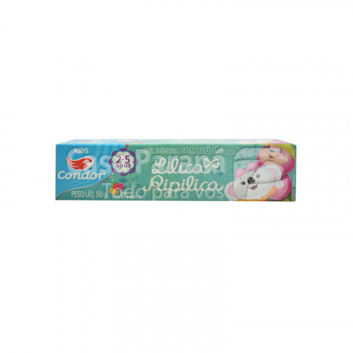 Crema dental lilica ripilica  tutti frutti 50 gr