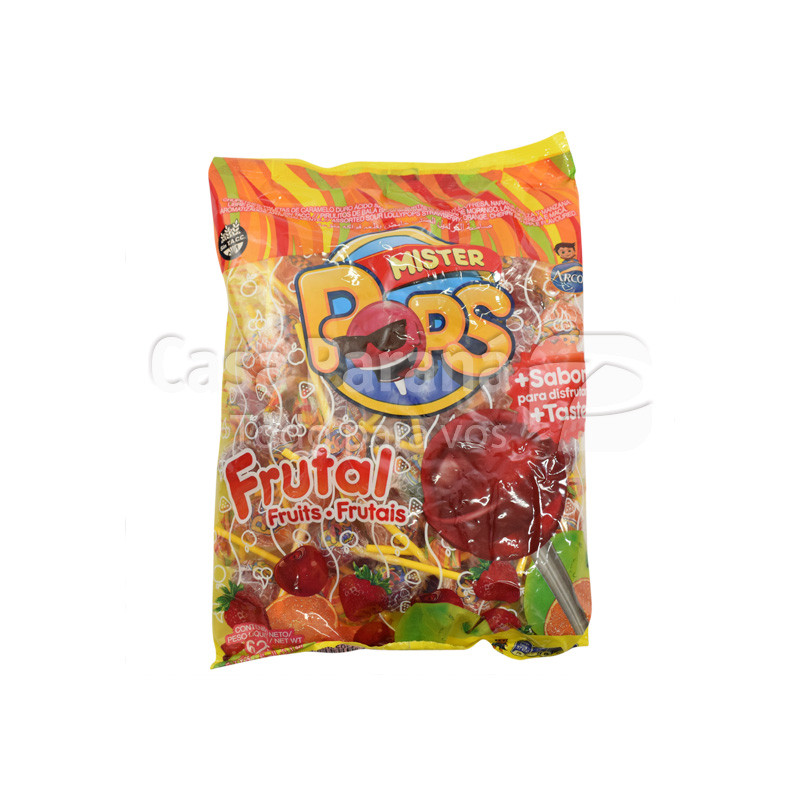 Caramelo de mister pop de 50 unidades