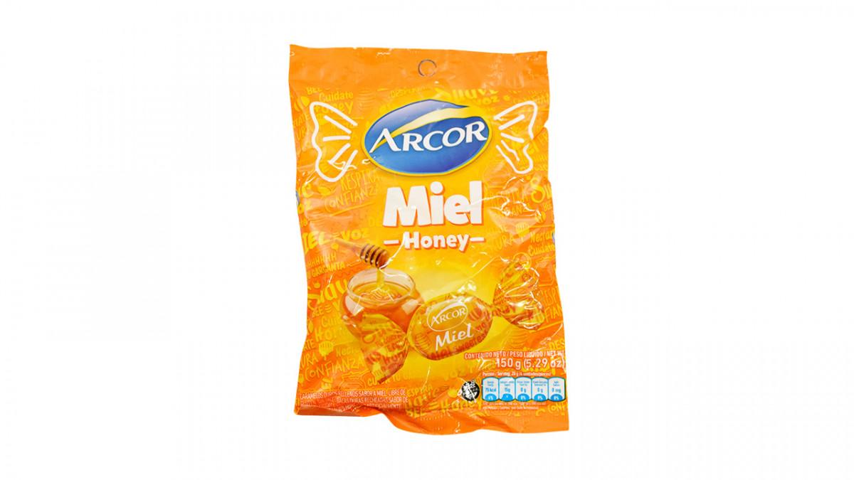 Caramelos con relleno de miel
