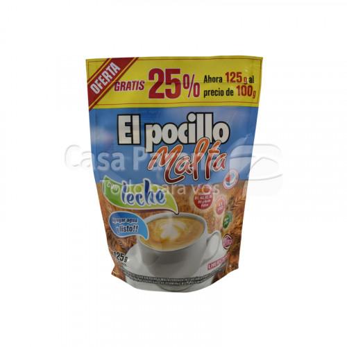 Café malta con leche 125 gr