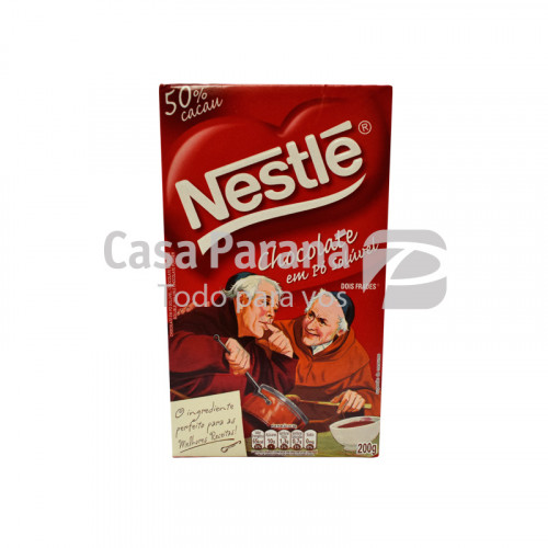 Chocolate en polvo de 200 gr