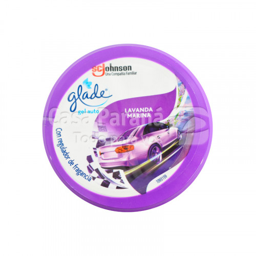 Aromatizante lavanda en gel para auto de 70gr