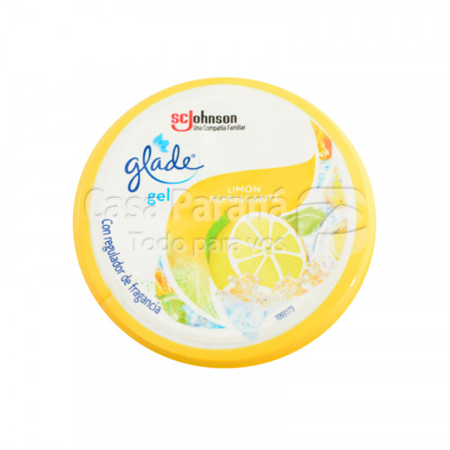 Aromatizante limon en gel para autos de 70gr