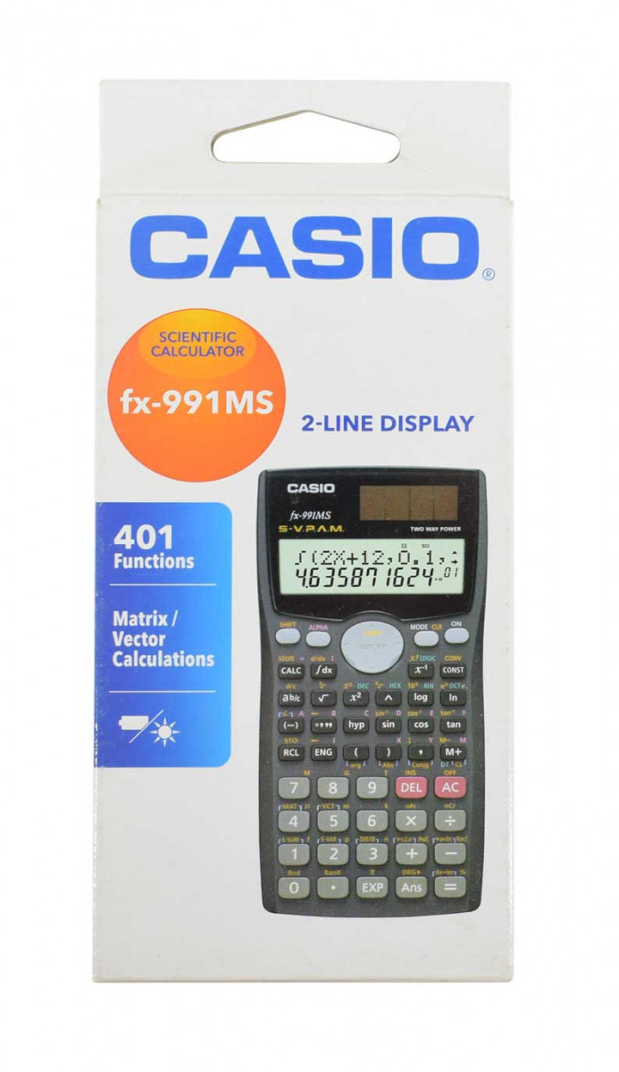 Calculadora CASIO Ref. FX-991MS