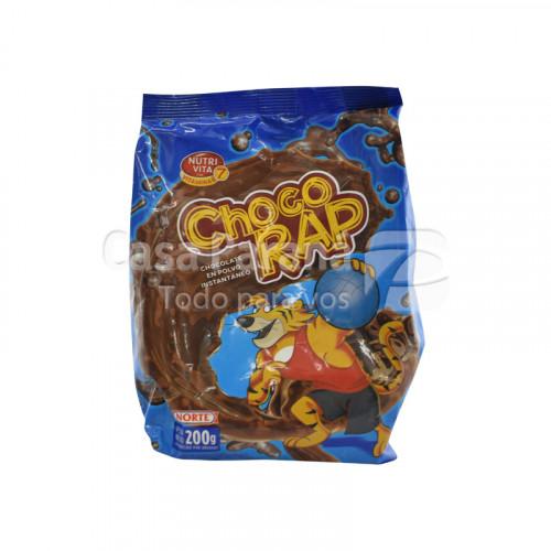 Chocolate en polvo CHOCO RAP 200 gr. NORTE