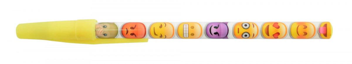 Boligrafo de emojis con tapa