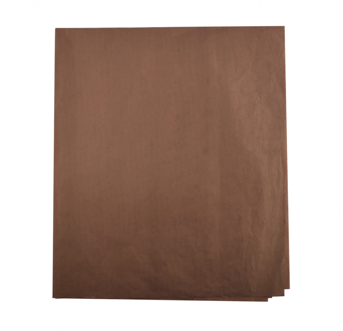 Papel de seda marron 48x60