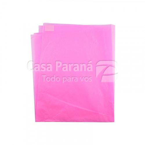 Papel de seda  rosa 48x60