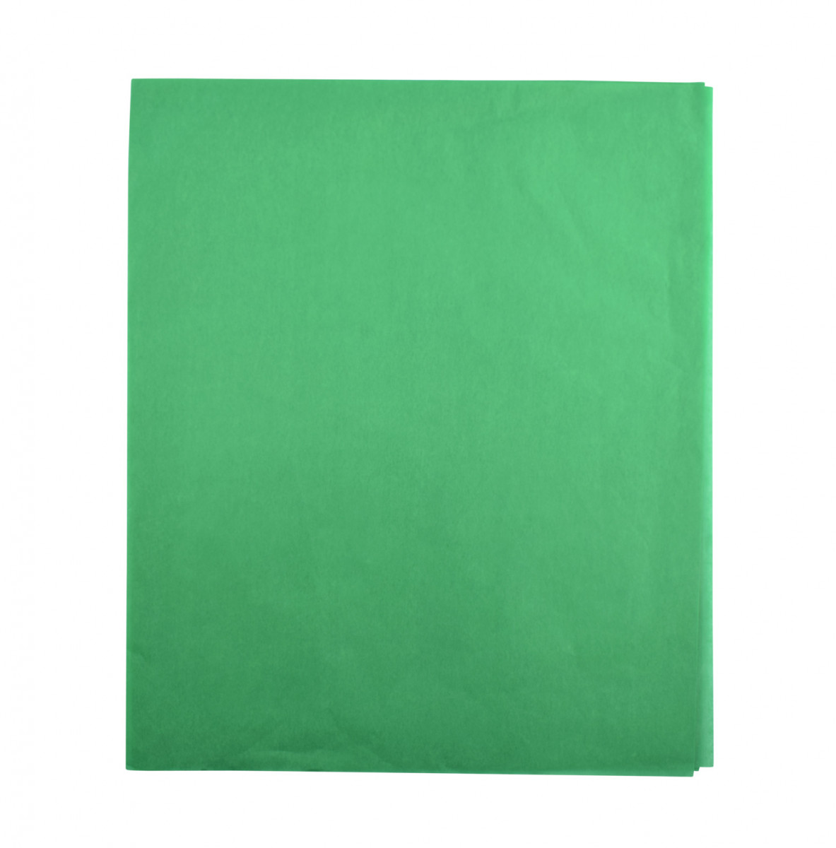 Papel de seda  verde 48x60
